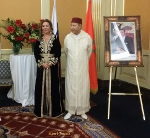 Reception of the Ambassador of Morocco in Moscow