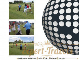 If you want to get a free golf lesson for 1.5 hours for 1 person- ask me how to get a gift certificate