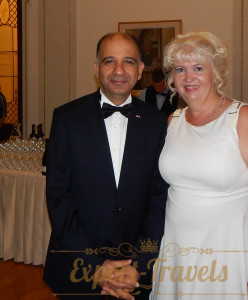 With Mr. Mohamed Ali Сhihi, Ambassador of Tunisia to Russia