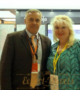 With Deputy Minister of Tourism of Venezuela Mr. Ali Ernesto Padron Paredes
