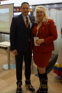 With Ambassador of the Bolivarian Republic of Venezuela Mr.Carlos Rafael Faría Tortosa
