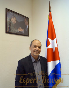 Mr. Edilberto Riveron Leon, Attache for tourism at the Cuban Embassy in Moscow.