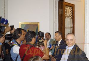 Reception at the Tunisian Embassy in honor of the Tunisian National Team, FIFA-2018