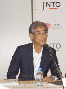 Japanese press-conference JNTO