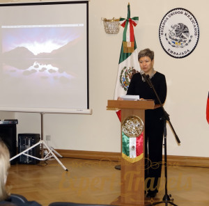 Ambassador of Mexico to Russia Mrs. Norma Pensado Moreno