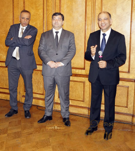 Mr. Mohamed Ali Сhihi, Ambassador of Tunisia to Russia, Mr. Rene Trabelsi, Minister of Tourism and Handicrafts of Tunisia