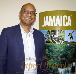 Gregory Shervington, Jamaica Tourist Board
